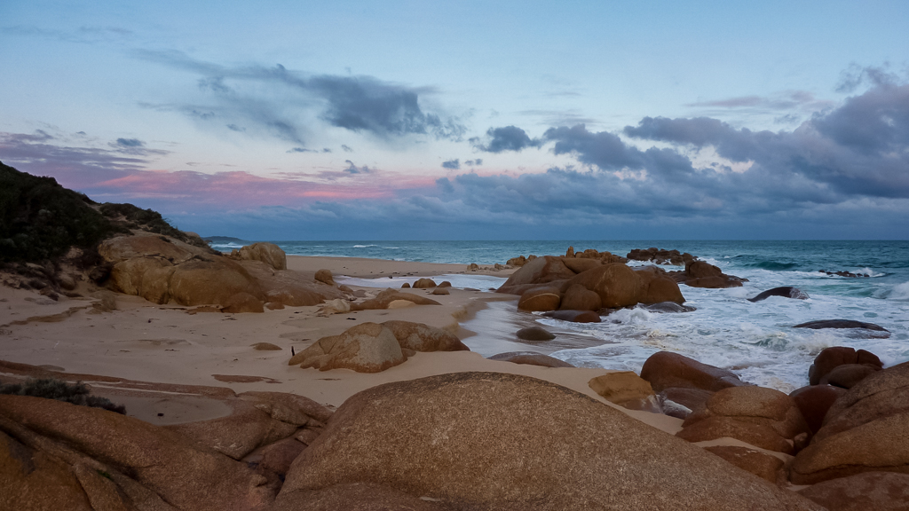 clinton-rocks-sunset-croajingolong-national-park