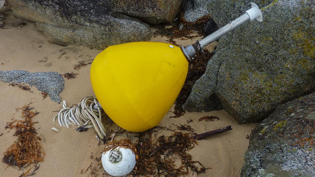 yellow-buoy-washed-up-croajingolong-national-park