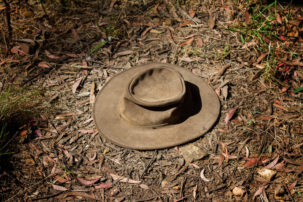hat-on-ground