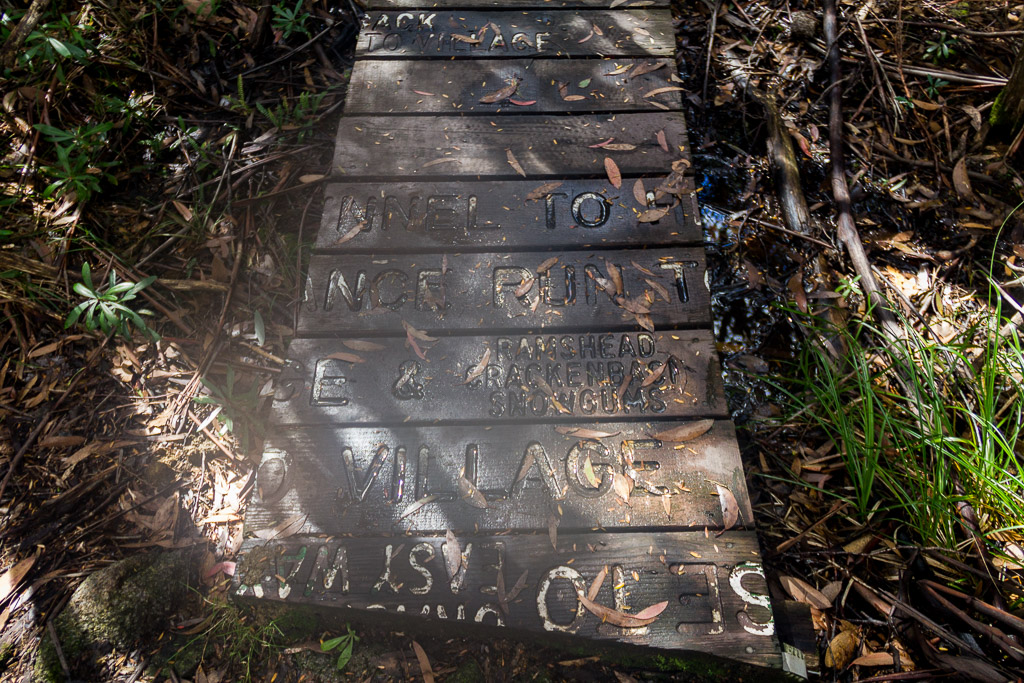 writing-on-wooden-board-walk-near-thredbo