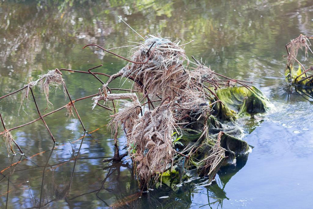 debris-in-werribee-river