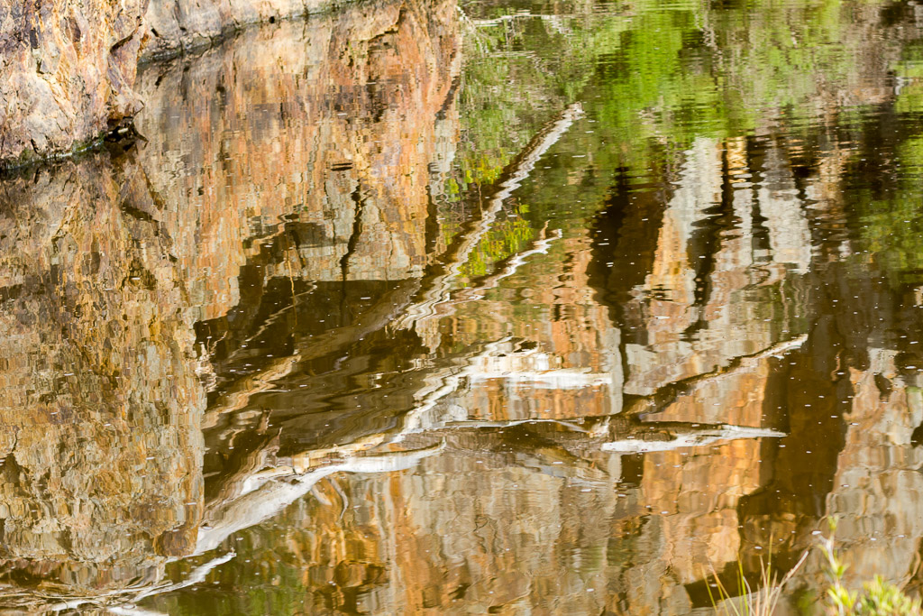 water-reflections-junction-pool-werribee-gorge