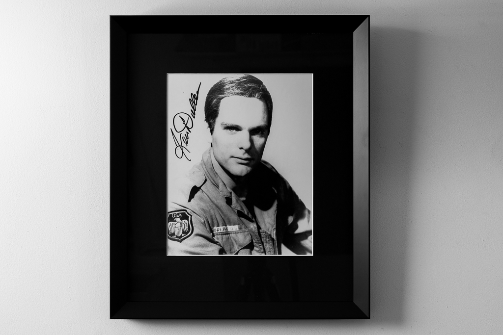 keir-dullea-2001-signed-photo-framed