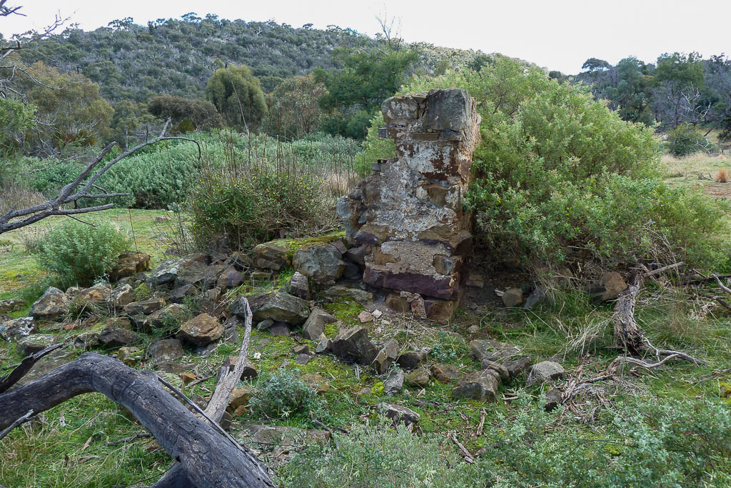 building-ruins-hanson-farm-werribee-gorge