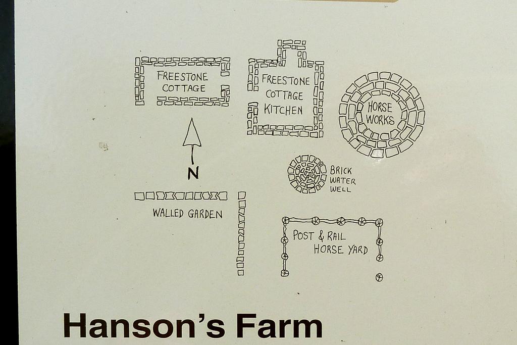 map-sign-hansons-farm-werribee-gorge
