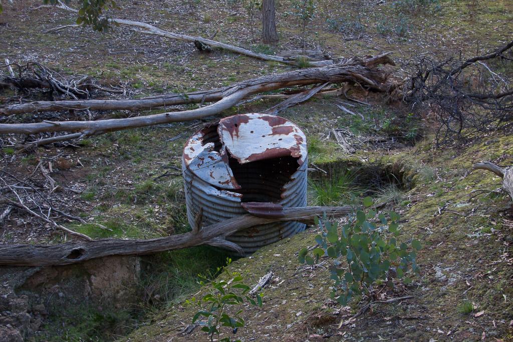 old-water-tank-werribee-gorge