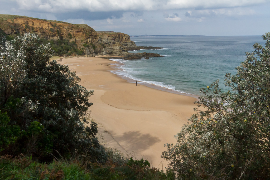 standing-on-beach-half-moon-bay-victoria