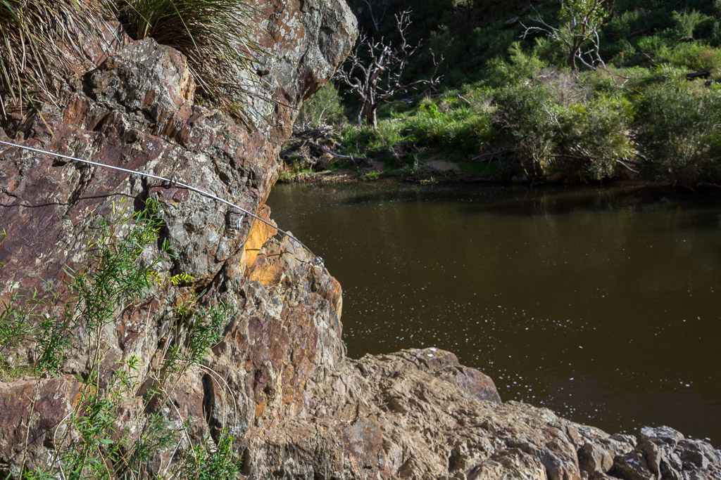 wire-rope-rock-wall-werribee-gorge