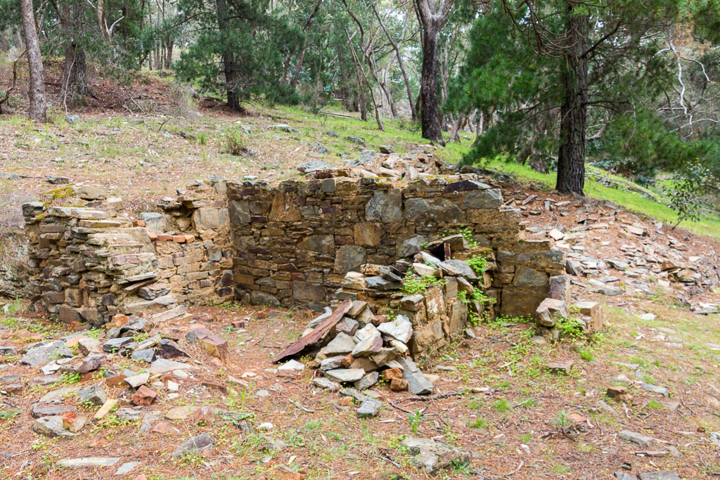 building-ruins-welsh-village-goldfields-victoria