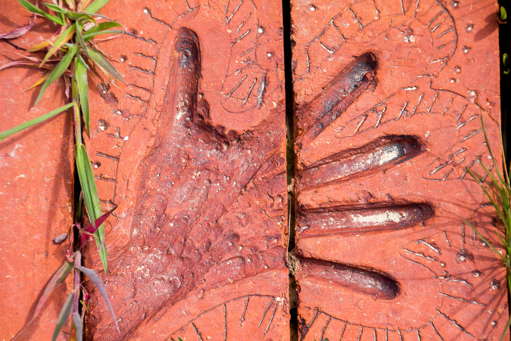 handprint-in-brick-paving-castlemaine