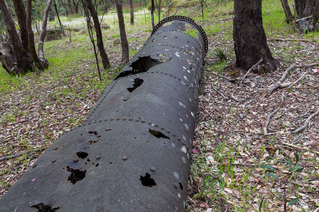 old-rusted-pipe-goldfields-victoria
