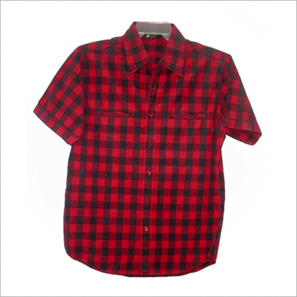 red-black-checked-shirt