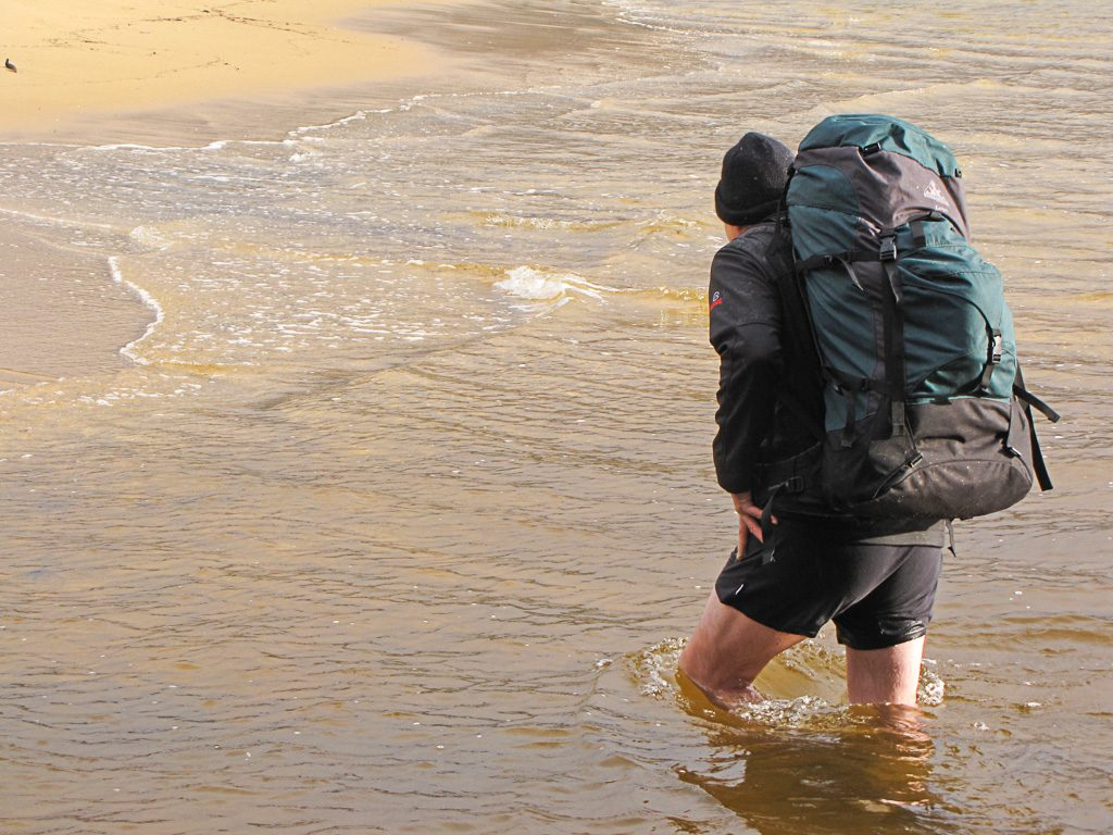 wading-during-hike-wilsons-promontory