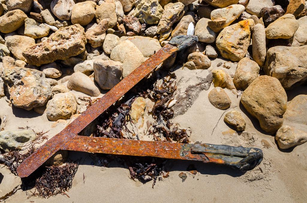 steel-piece-jarosite-headland-beach