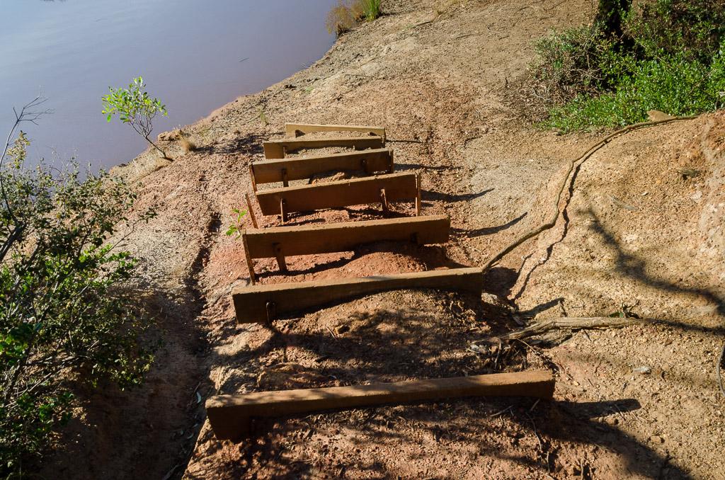 steps-at-jarosite-track-dam