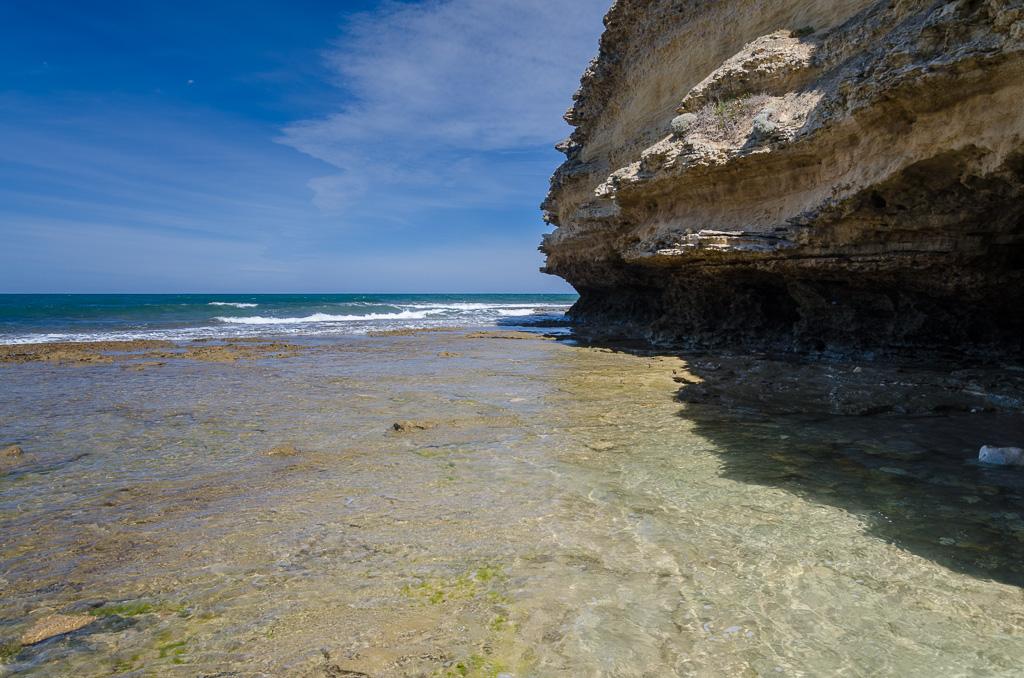 wading-around-point-addis-cliff
