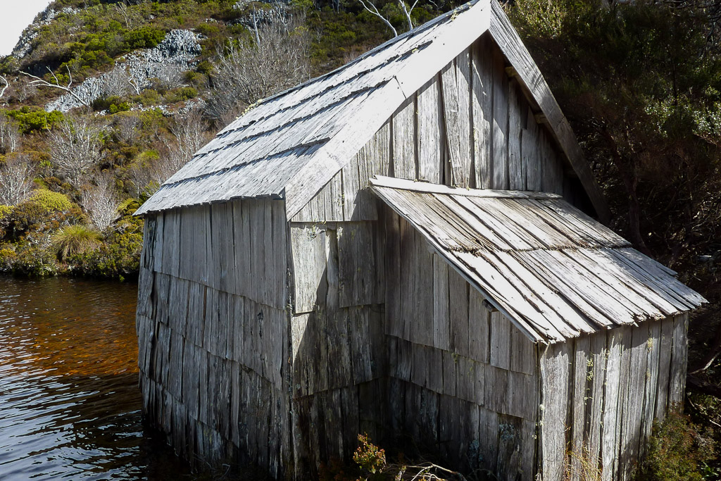 crater-lake-boatshed-tasmania