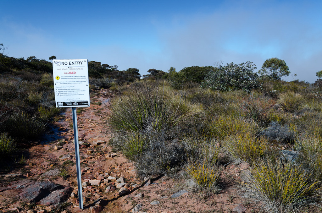 closed-sign-on-major-mitchell-plateau-track