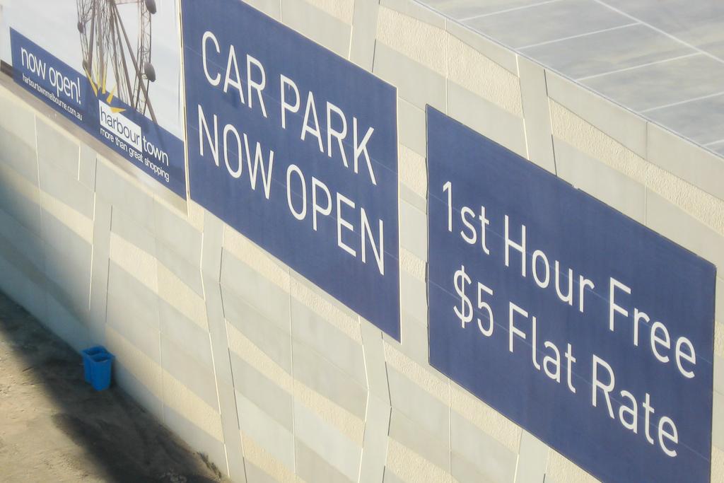 car-park-sign-docklands