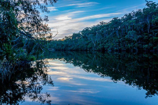 glenelg-river-sunset