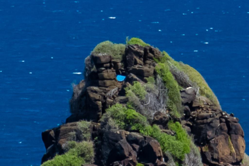 blue-object-on-pyramid-rock-phillip-island