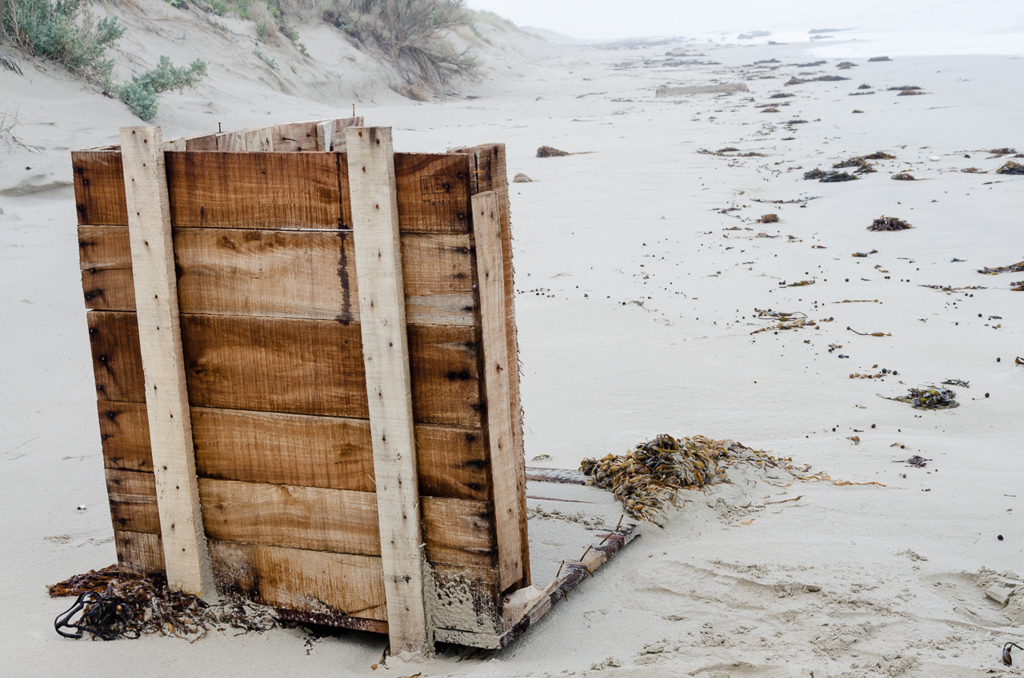 remains-of-wooden-box-on-beach
