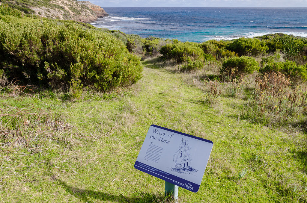 marie-shipwreck-information-sign-whites-beach
