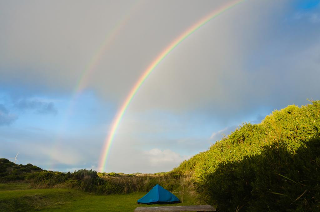 twin-rainbows
