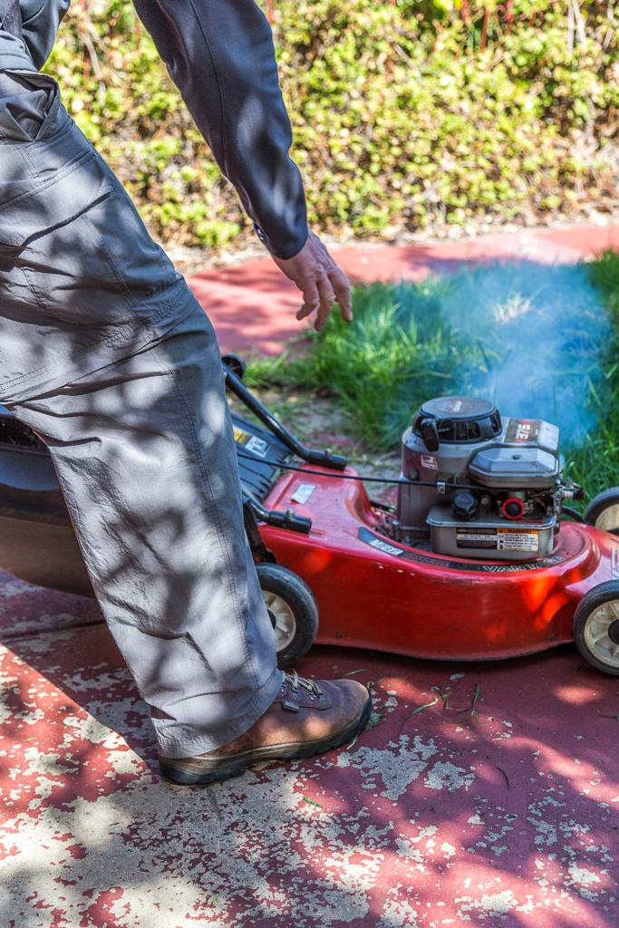 starting-mower