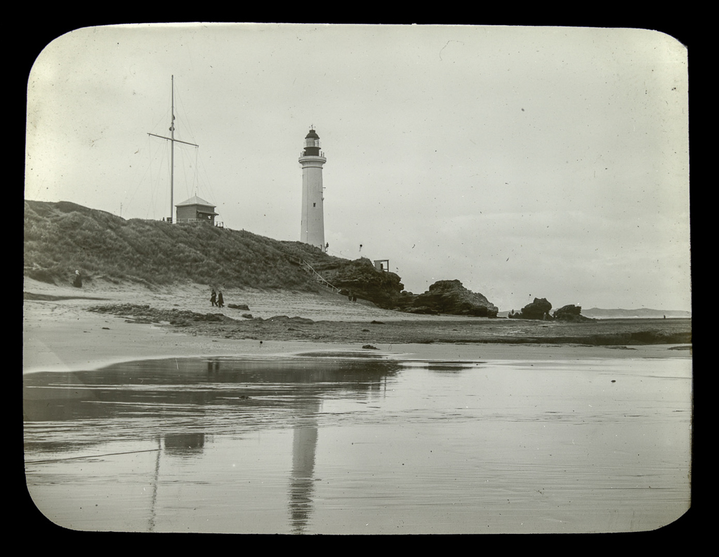 Point Lonsdale and lighthouse-Vic-Gerard S. Wardell 1904-1992-[ca. 1937 - ca. 1938]-State Library of Victoria