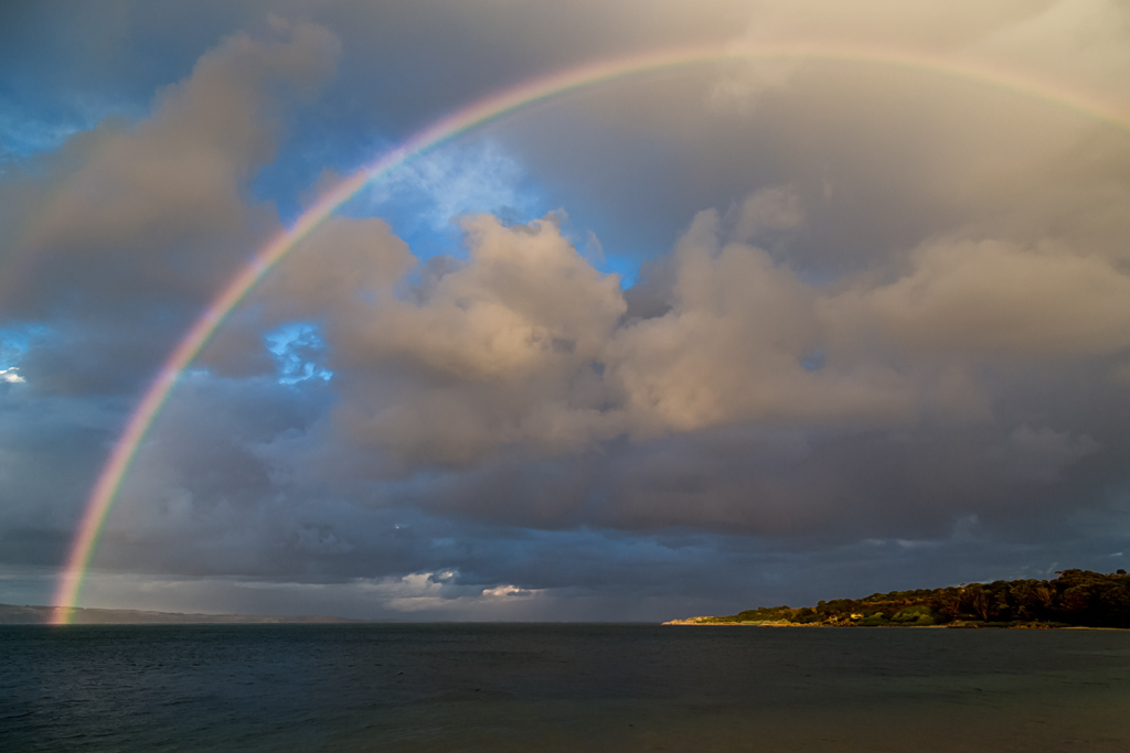 rainbow-over-ocean-cape-woolamai
