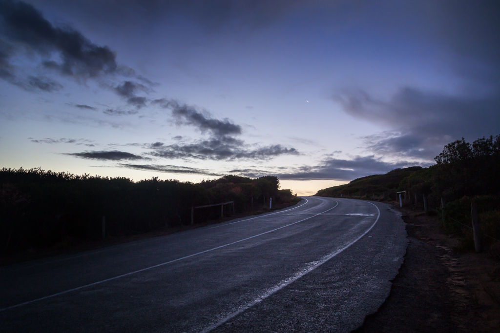 road-sunset-phillip-island