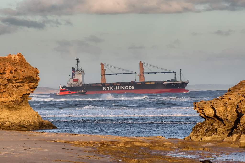 ship-passing-through-rip-port-phillip-bay