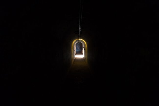 tunnel-inside-fort-point-nepean