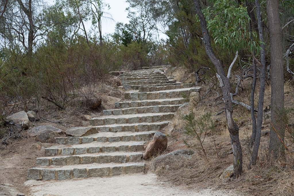 stairs-on-climb-flinders-peak-you-yangs