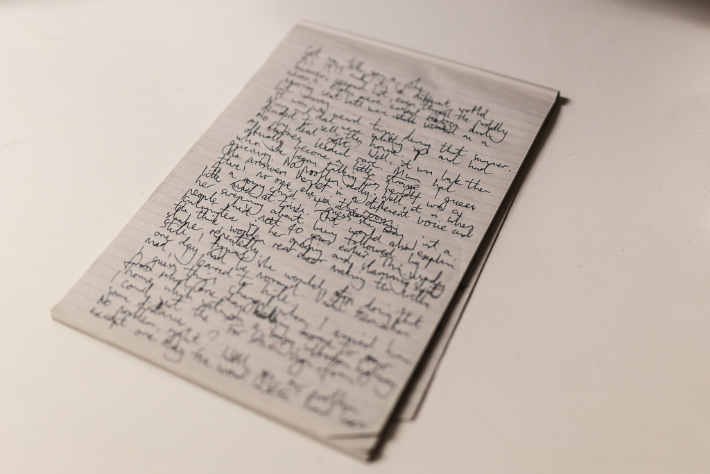 hand-written-page