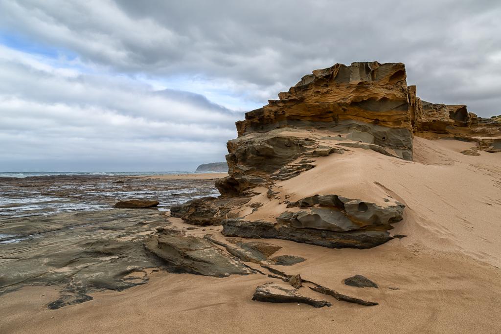 rock-shelf-sand-dune-cape-otway