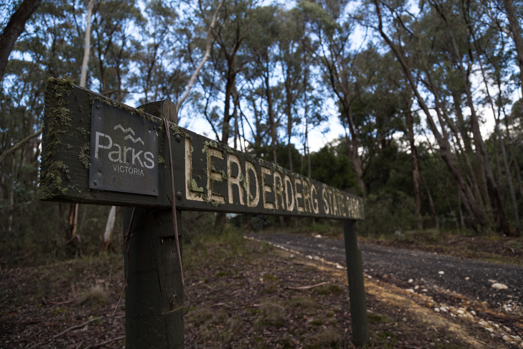 lerderderg-state-park-sign