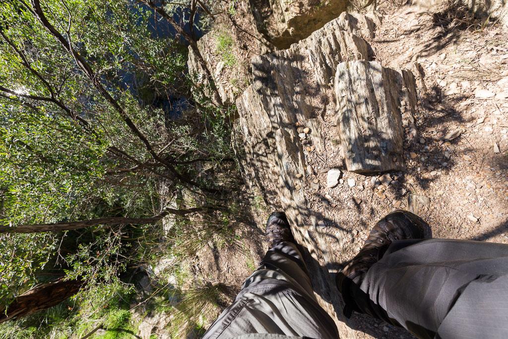 clambering-rock-lerderderg-gorge