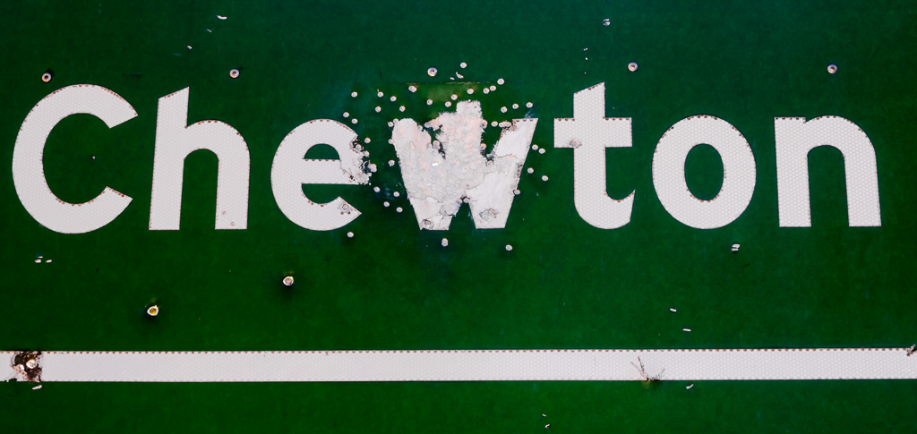 bullet-hole-chewton-road-sign