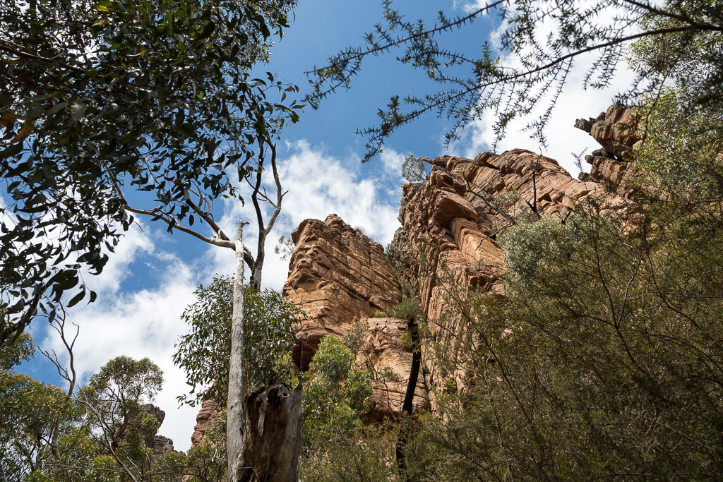 buttress-below-cathedral-rock-grampians