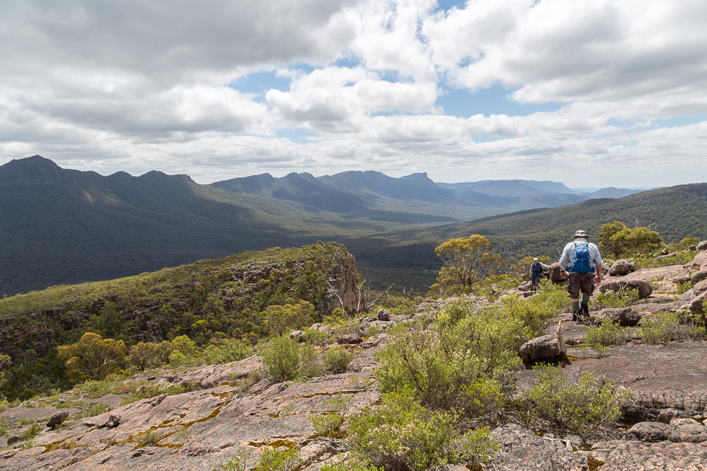 descending-cathedral-rock-grampians