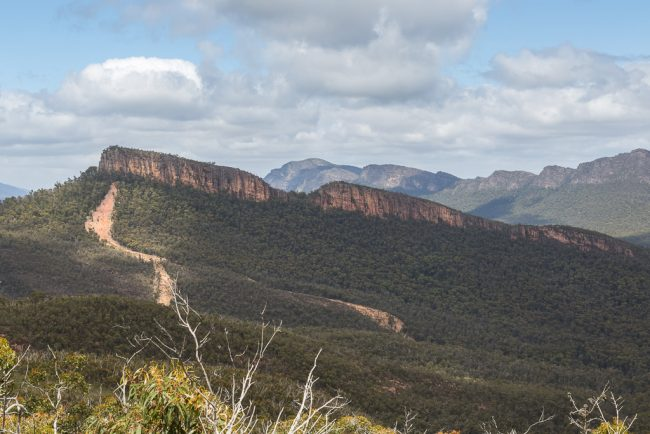 land-slip-cathedral-rock-grampians