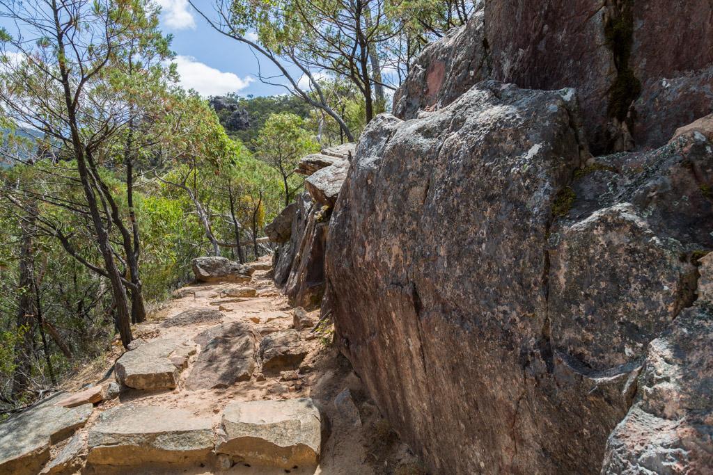 rock-boulders-boronia-peak-track-grampians