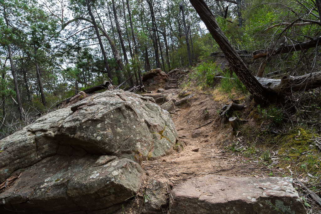 rocks-on-boronia-peak-walking-track-grampians