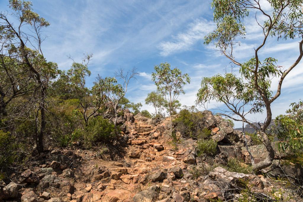 track-rocks-boronia-peak-grampians