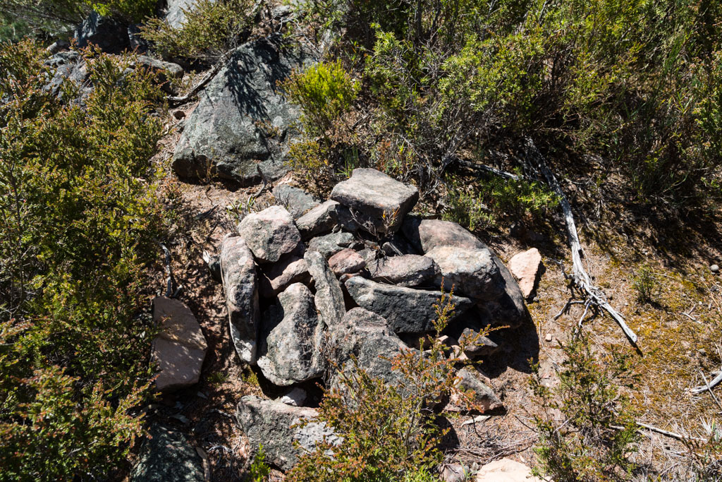 cairn-unnamed-peak-mount-william-range-grampians