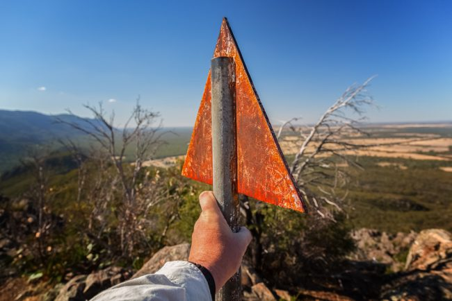 metal-post-boronia-peak-grampians