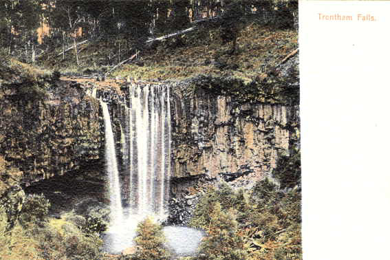 Trentham Falls 1905 state library of victoria
