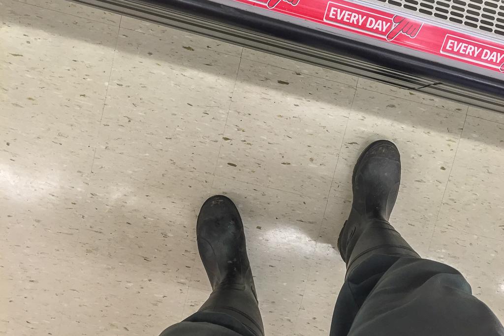 wearing-gum-boots